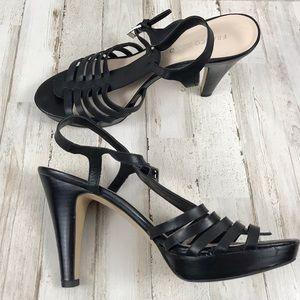 Franco Sarto platform heeled sandal size 10